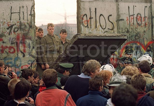 El muro de Berlín, construido en 1961 y derribado en 1989, dividió Alemania en dos. (Foto: Hemeroteca PL)