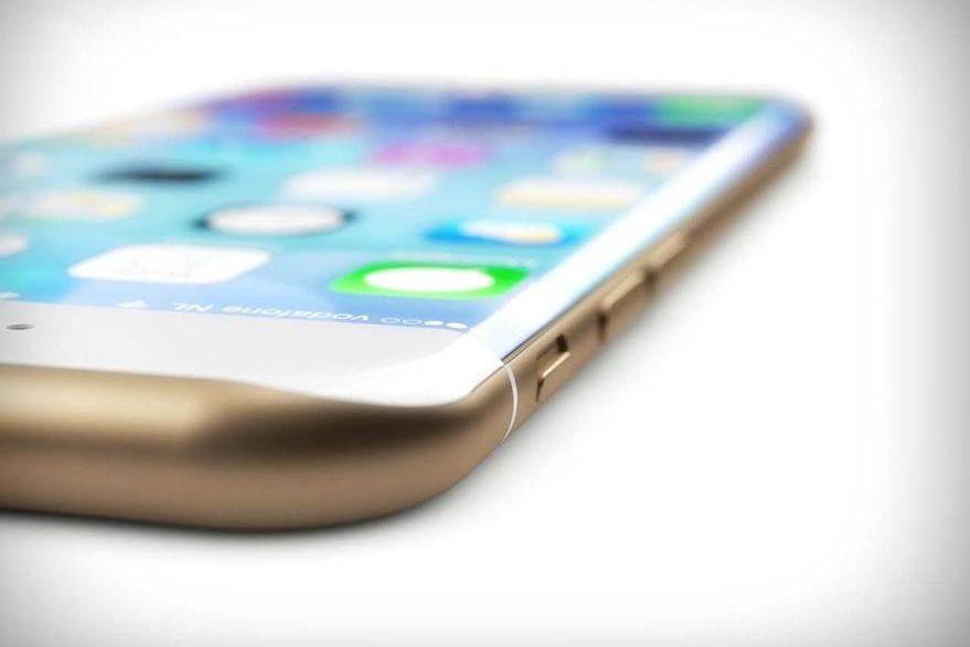 Imagen conceptual de un iPhone con pantalla curva. Hasta el momento no se han publicado fotos ni información oficial sobre el dispositivo del 2017. (Foto: Hemeroteca PL).