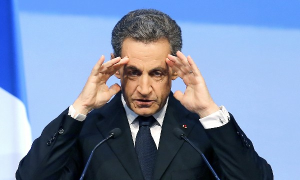 Nicolás Sarkozy, líder del partido Los Republicanos.