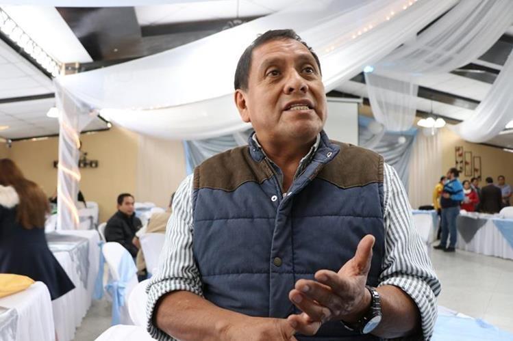 Ricardo Guillermo Velásquez Gerónimo, jefe edil de El Quetzal. (Foto Prensa Libre: Whitmer Barrera).