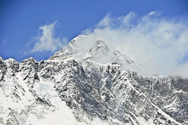 El Monte  Everest  ubicado  en Tembuche en Khumbu de Nepal. (Foto Prensa Libre:AFP).