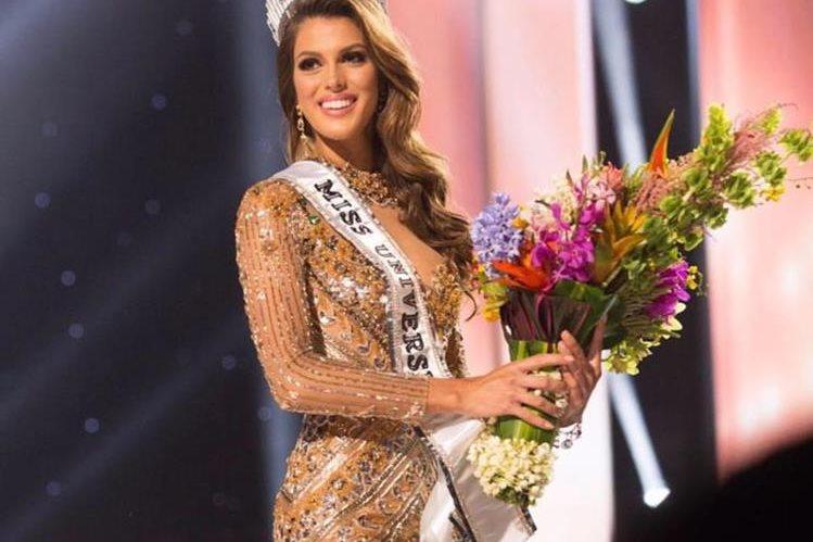 La francesa Iris Mittenaere es elegida Miss Universo 2016. (Foto Prensa Libre: HemerotecaPL)
