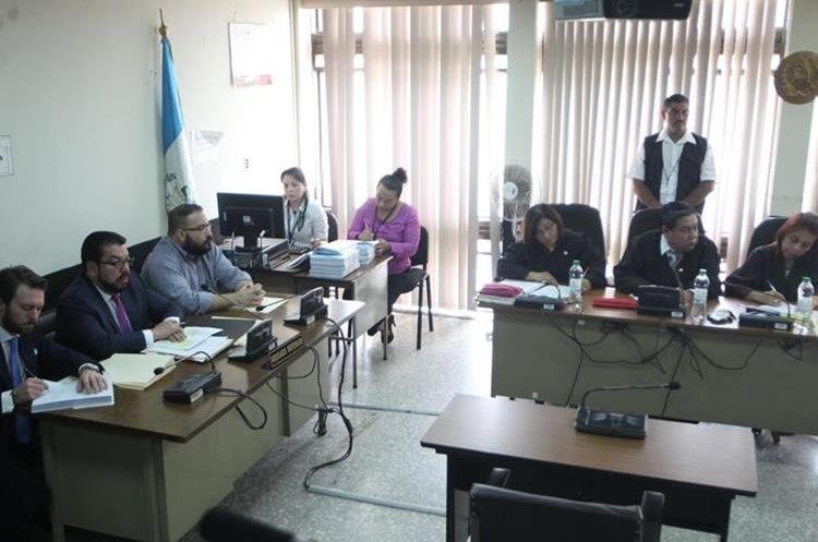 Audiencia de extradición del exgobernador de Veracruz, México. (Foto Prensa Libre: Érick Ávila)