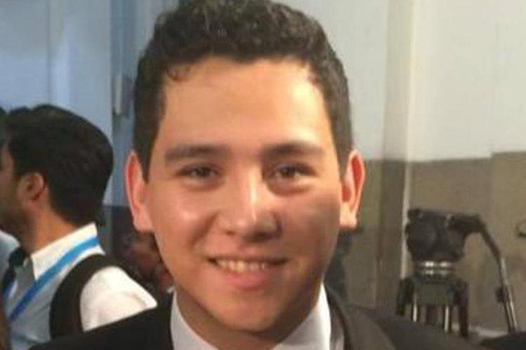 José Manuel Morales Marroquín, hijo del presidente Jimmy Morales, figura en investigación por hechos corrupción en el Registro General de la Propiedad. (Foto Prensa Libre: Hemeroteca)