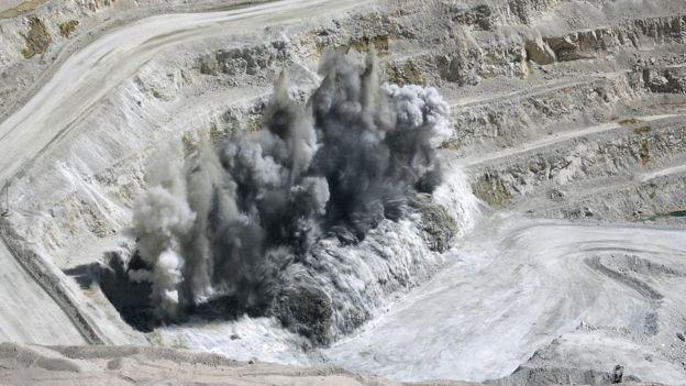 El esposo de Fontbona se inició en el mundo de la minería en Chile. REUTERS