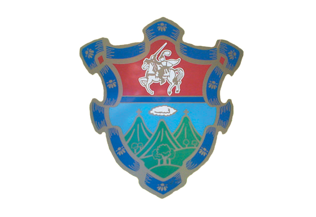 Modificado. Escudo actual utilizado por la Municipalidad de Guatemala. (Foto: Hemeroteca PL)