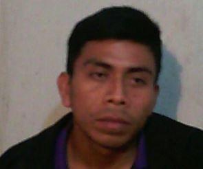 Yony Gudiel Sales Jerónimo fue capturado cuando huía a México (Foto Prensa Libre cortesía PNC)