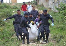 Reportan 27 desmembramientos hasta mayo; hay repunte de agresiones mortales en contra de mujeres. (Foto Prensa Libre: Érick Ávila)