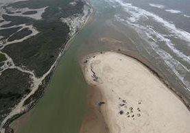 Donde el río Bravo desemboca en el Golfo de México nace la frontera entre México y Estados Unidos. GETTY IMAGES
