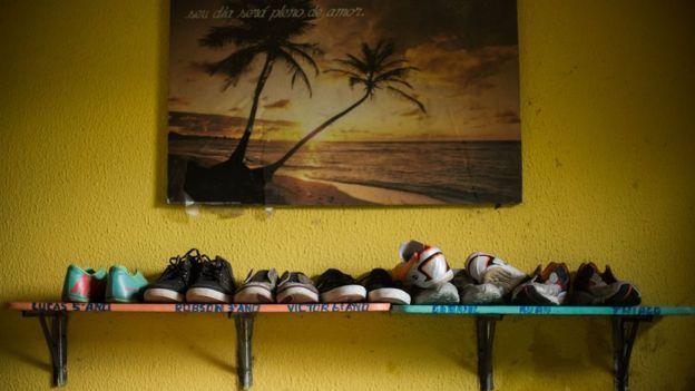 """Hogar en el estado de Ceará. Una especialista asegura que es preciso dejar la """"visión romántica"""" de la adopción y encarar las dificultades. (Foto Prensa Libre: Marília Camelo/BBC Brasil)"""