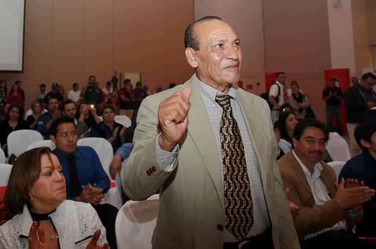 Benigno Rustrián, quien radica en Nueva York, Estados Unidos, estará en la edición 57 de la Vuelta a Guatemala. (Foto Prensa Libre: Carlos Vicente)