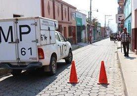 Un médico fue atacado la mañana de este jueves, en la zona 1 de Chiquimula. (Foto Prensa Libre: Mario Morales)