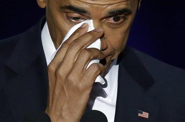 """""""Si lo hicimos"""" dijo el presidente de Estados Unidos, Barak Obama a la concurrencia."""