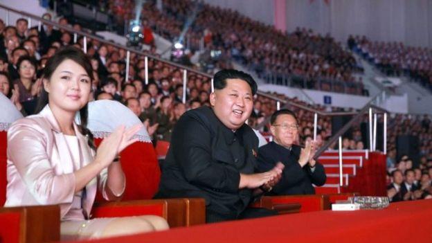 El líder norcoreano, Kim Jong-un, no parece preocupado por la presión internacional. AFP/GETTY IMAGES