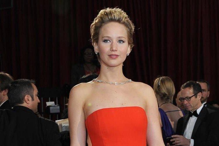 La actriz estadounidense Jennifer Lawrence ha generado US$52 millones en los últimos 12 meses.(Foto Prensa Libre: AFP)