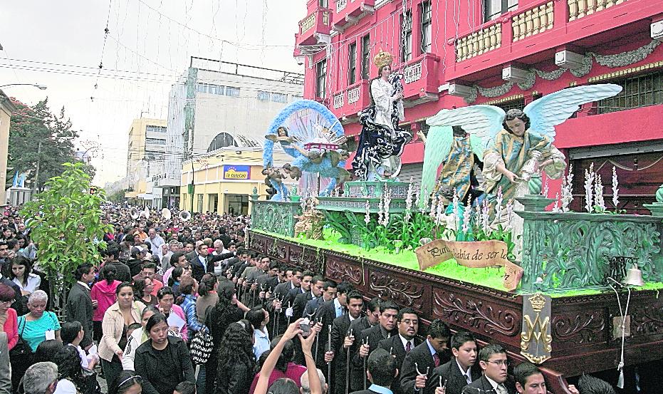 Rezado de la Inmaculada Concepción de San Francisco cumple 400 años en el 2017; es el más antiguo de Guatemala. (Foto Hemeroteca PL)