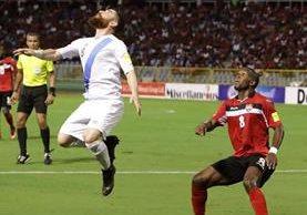 Jean Márquez (izquierda) reaccionó ante la decisión de Fifa. (Foto Prensa Libre: Hemeroteca PL)