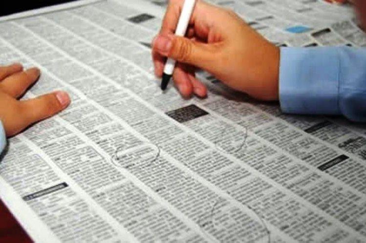 En los tres primeros meses del año, la economía estadounidense creó un total de 628 mil empleos.(Foto Prensa Libre: Hemeroteca PL)