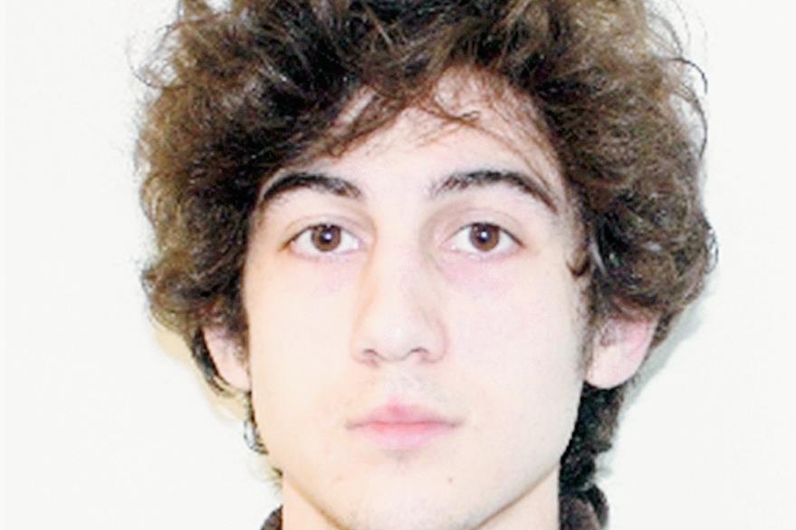 Dzhokhar Tsarnaev, el principal condenado en el caso del atentado en Boston. (Foto Prensa Libre: AFP).