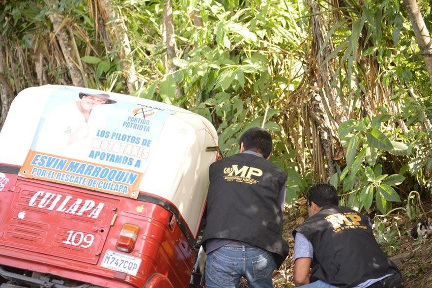 El lunes último murió a balazos el piloto de un mototaxi en Cuilapa, Santa Rosa. (Foto Prensa Libre: HemerotecaPL)