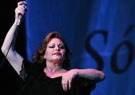 La cantante española Rocío Durcal falleció el 25 de marzo de 2006. (Foto Prensa Libre: EFE).