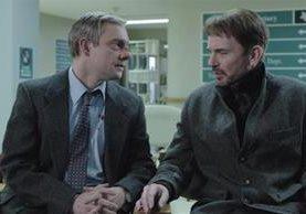 <p>Los actores  Martin Freeman  y Billy Bob Thornton, en una escena de Fargo. (Foto Prensa Libre: Archivo)</p>