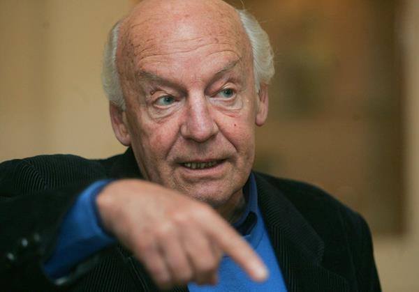 El escritor y periodista uruguayo, Eduardo Galeano, creador de la obra Las venas abiertas de América Latina. (Foto Prensa Libre: EFE)