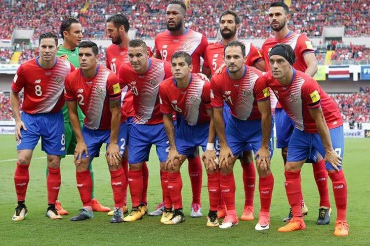 La Selección de Costa Rica, recién clasificada al Mundial de Rusia, jugará un partido amistoso contra España y Hungría en noviembre. (Foto Prensa Libre: Hemeroteca)