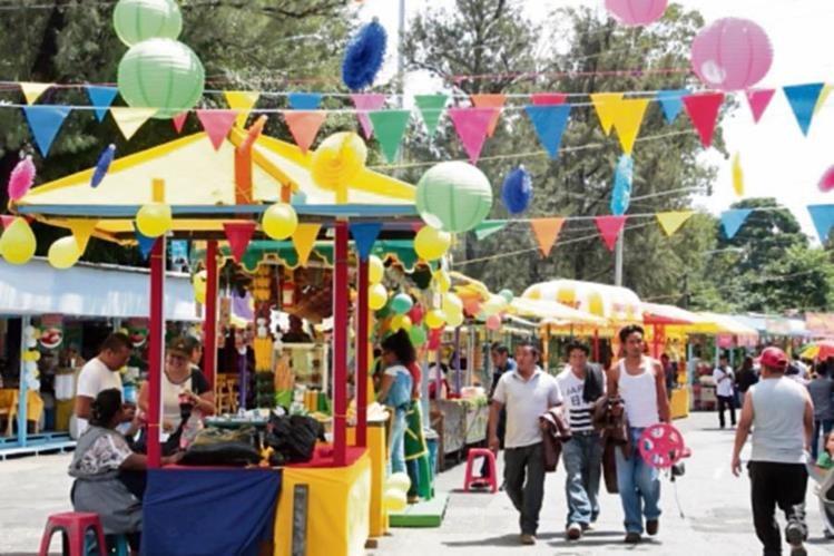 en la capital se celebra este sábado la feria patronal.
