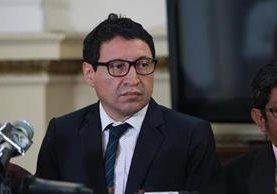 El diputado Álvaro Velásquez no acudió al Congreso, se reportó enfermo, pero recibirá sus dietas (Foto Prensa Libre: Hemeroteca)