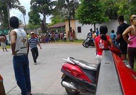 Situación es tensa en Tecún Umán, debido a operativos para combatir el contrabando. (Foto Prensa Libre: Alexánder Coyoy).