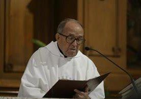 Sacerdote José María Delgado Varela, en 2005. (Foto Prensa Libre: Hemeroteca PL)