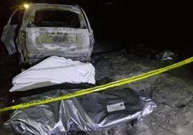 En los últimos días se han hallado varios cuerpos calcinados en Chilapa, Guerrero. (Foto Prensa Libre: EFE)