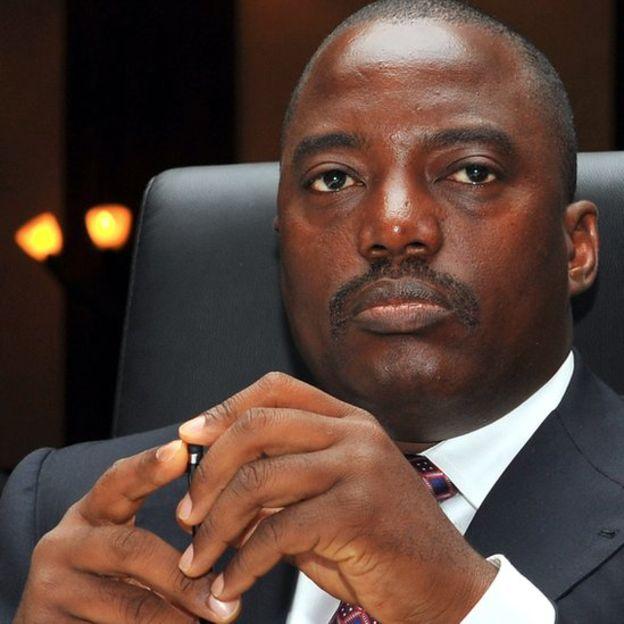 Joseph Kabila ha estado en el poder desde 2001. AFP