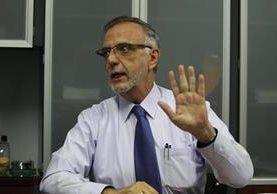 """Iván Velásquez, jefe de la Cicig, está consciente de la """"campaña feroz"""" contra él, de sectores y mafias afectadas por las investigaciones. (Foto Prensa Libre: Erick Avila)"""