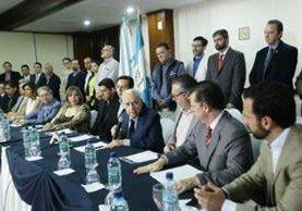 Mario Antonio Sandoval, vicepresidente del Consejo Administrativo de Prensa Libre, lamentó los hechos de violencia en el país. (Foto Prensa Libre: Álvaro Interiano)