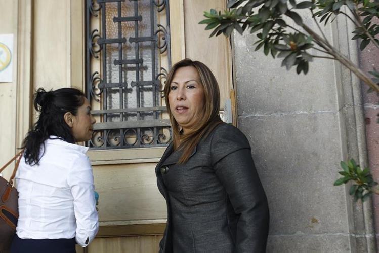Sofía Hernández fue denunciada por el gobernador de Huehuetenango.