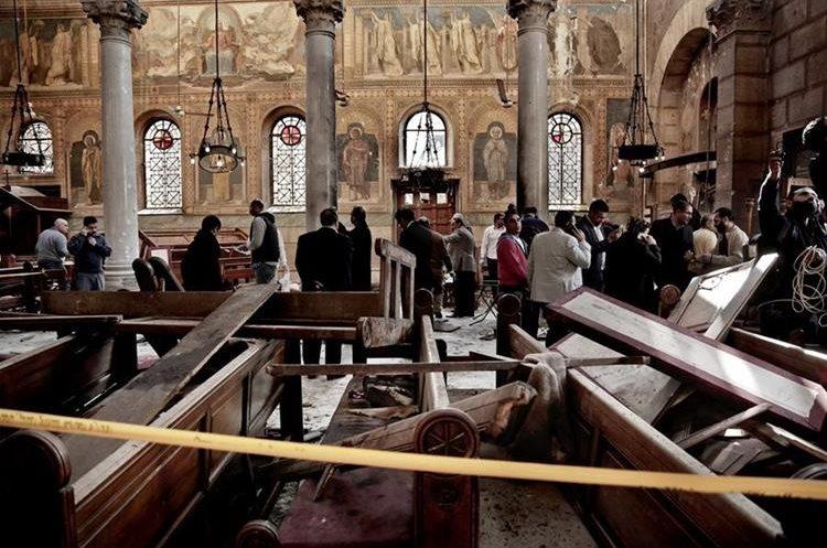 Reciente atentado en Egipto contra los cristianos coptos. (AP)