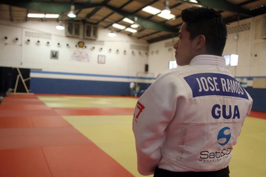 El judoca nacional, quien es originario de Cobán, busca estar en su primera cita a nivel Olímpico. (Foto Cortesía COG)