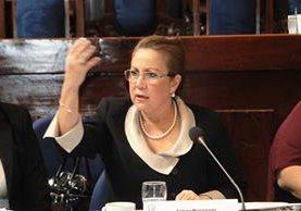 Blanca Aída Stalling es magistrada vocal VIII de la Corte Suprema de Justicia. (Foto Prensa Libre: Hemeroteca PL)