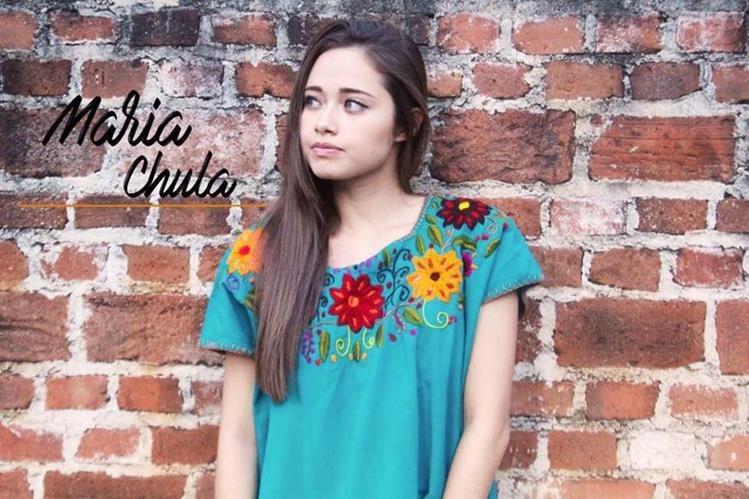 Tienda María Chula opera a través de Facebook y ofrece productos con tejidos mayas. (Foto Prensa Libre: Facebook María Chula)