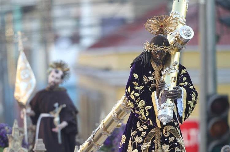 Jesús de Candelaria es muy querido por los guatemaltecos por sus rasgos indígenas.