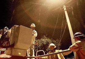 La Anam presentó, por primera ocasión, una propuesta para cambiar el cobro del alumbrado público. (Foto, Prensa Libre: Hemeroteca PL)