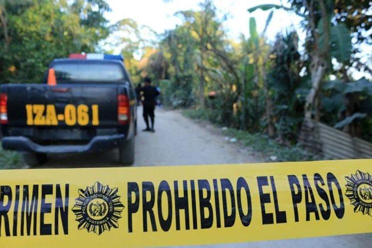 En lo que va del año en Izabal, 42 personas han muerto de forma violenta. (Foto Prensa Libre: Dony Stewart)