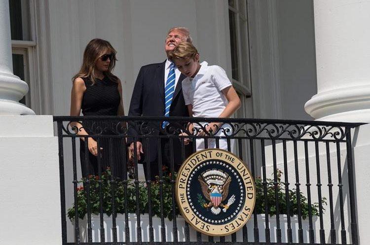 Los Trump se preparan para el acontecimiento. (Foto Prensa Libre: AFP)