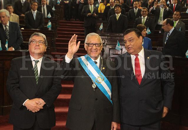 Luego de varios intentos de llegar a la Presidencia, Alejandro Maldonado Aguirre fue nombrado Presidente de la República el 3 de septiembre de 2015. (Foto: Hemeroteca PL)