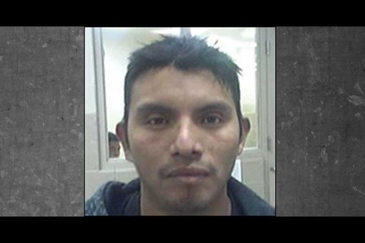 Fotografía de Esteban Juárez Tomás publicada por Inmigración. (Foto Prensa Libre: ICE).