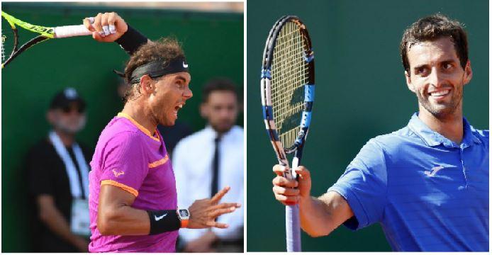 Rafael Nadal y Albert Ramos se enfrentarán en la final de Montecarlo. (Foto Prensa Libre: Agencias)