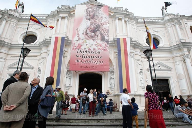 Templo de Santo Domingo, durante el mes de octubre. (Foto: Hemeroteca PL)