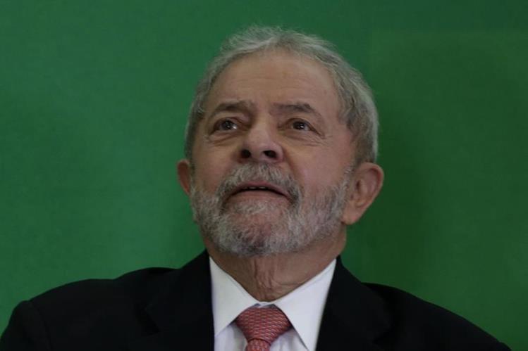 Lula da Silva, expresidente de Brasil y ahora jefe de gabinete de Rousseff. (Foto Prensa Libre: EFE).